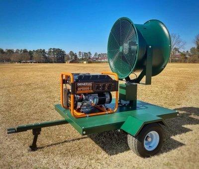 portable fan unit