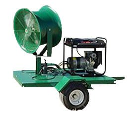 portable fan unit