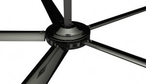 COMMERCIAL HVLS FANS BLACK