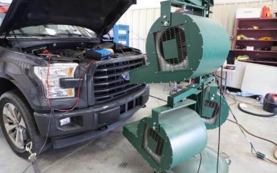 fan blower unit, dock door fans