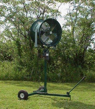 heavy duty pedestal stroller fans